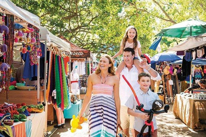 Sunshine Coast Hinterland e Noosa Day Trip de Brisbane, incluindo mercados Eumundi e Ginger Factory