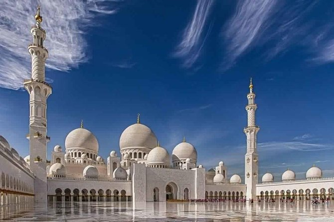 Abu Dhabi City Tour with Sheikh Zayed Grand Mosque