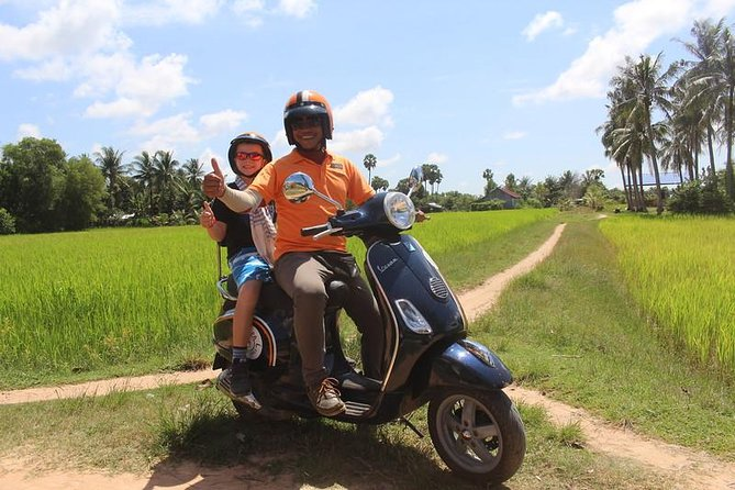 Countryside Life Tour by Vespa ( After noon )