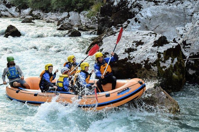 Rafting on Soča