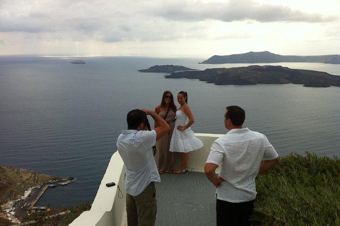 Santorini Private Tour by Luxurious Minivan for Cruise Ship Travelers