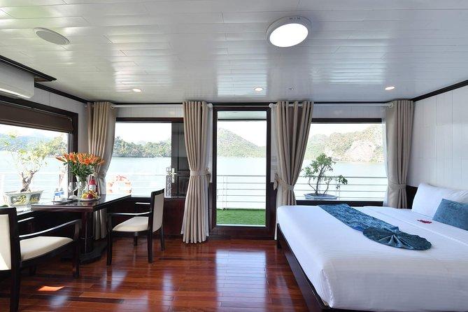 Cruising Halong Bay - Lan Ha Bay 2 Days on boat - Cabin with balcony