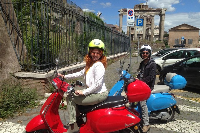 Rent the Iconic Vespa Scooter -