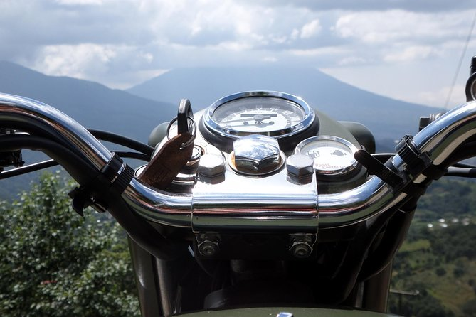 Antigua's Hills on a Classic Motorcycle