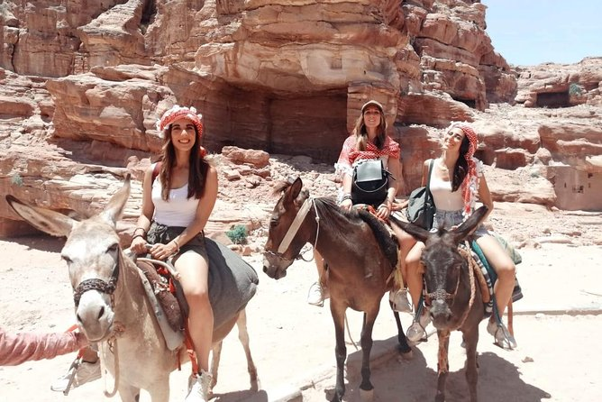 Petra, Wadi Rum, Aqaba in 2-Days from Dead Sea or Amman or Airport