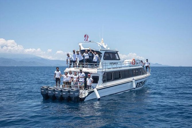 Fast Boat Bali to/from Lembongan Island, Including Pick Up