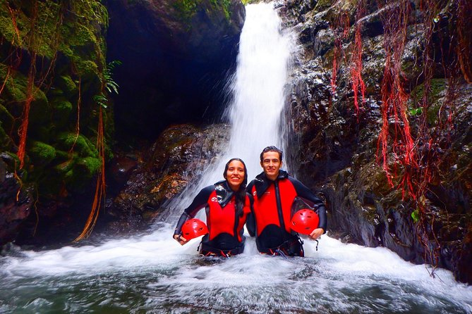 Canyoning cloud forest private day trip