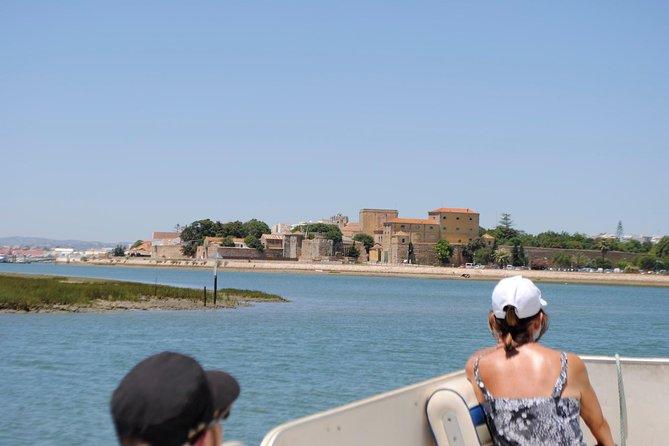 Short boat trip of the Algarve's Ria Formosa lagoon from Faro: 45 minutes