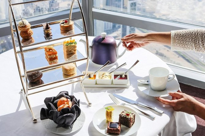 Burj Khalifa: Tea in the Clouds at The Lounge (152nd -154th Floors)