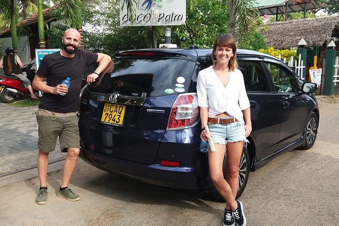 Private Car & Driver for 07 Days Tour In Sri Lanka