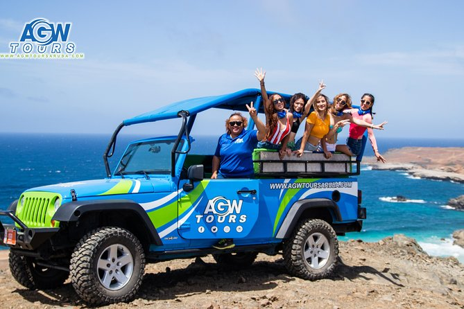 Natural Pool, Caves & Baby Beach Aruba Jeep Adventure Tour