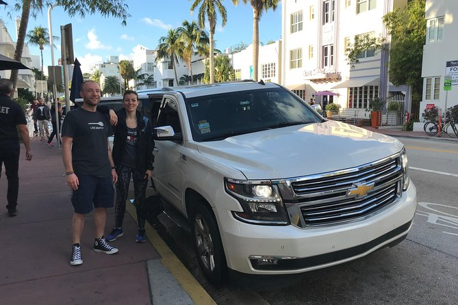 Transfer from Dolphin Mall to Miami Beach