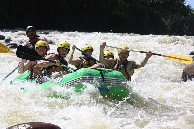 White Water Rafting Class II & III in the AFTERNOON
