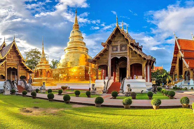Chiang Mai City Temple & Museum tour half day round trip transfer from hotel