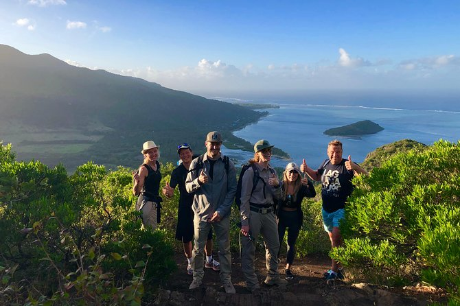 Hiking and Climbing UNESCO Le Morne Brabant