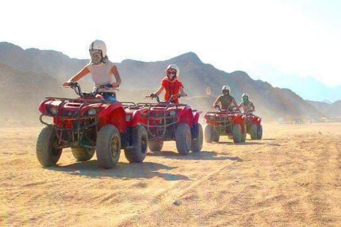 Quad bike and snorkel blue hole 3 hour's from dahab