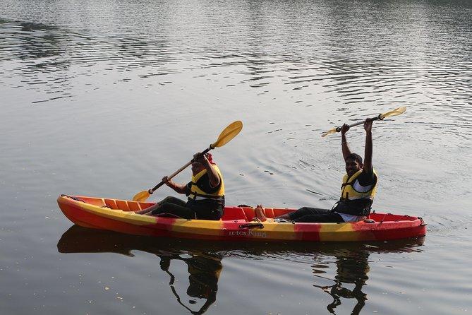 Kayaking in River Periyar at Aluva, Kochi