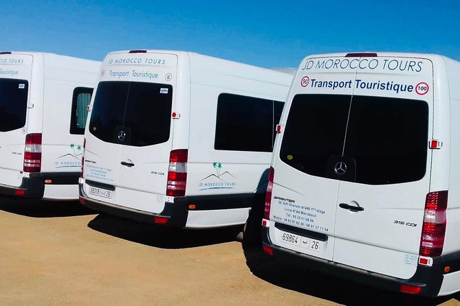 JD Morocco Tours Vehicles
