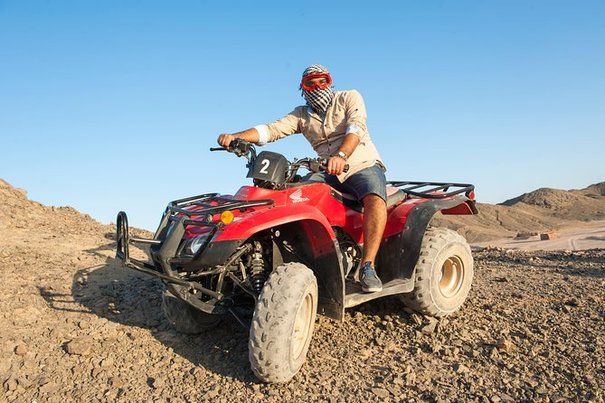 Marsa Allam Super Safari Excursion By ATV Quad and Sunset