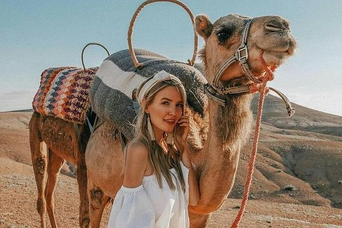Desert Agafay and Atlas Mountains Day Trip From Marrakech with Camel ride