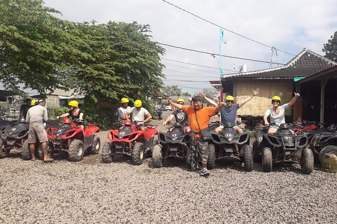 Adventure atv and rafting tour