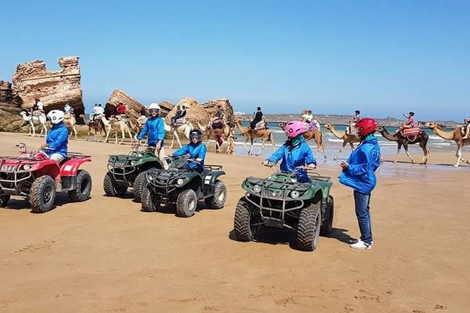 Circuit / 2H in Quad + 2H Camel ride on the beach of Essaouira