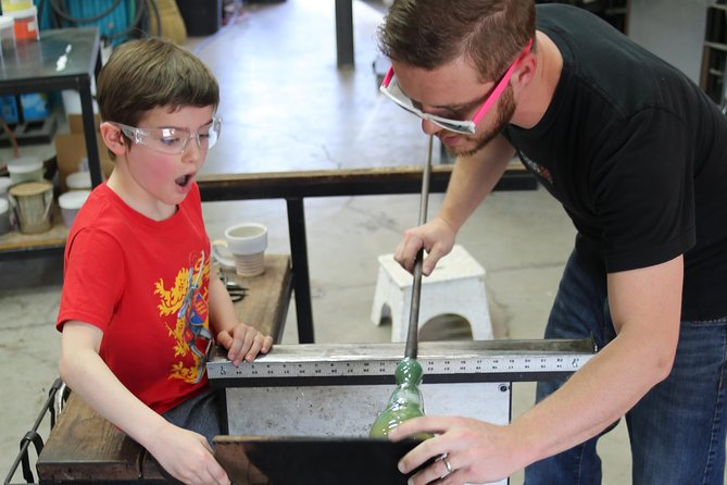 Introduction to Glassblowing Workshop in Sedona