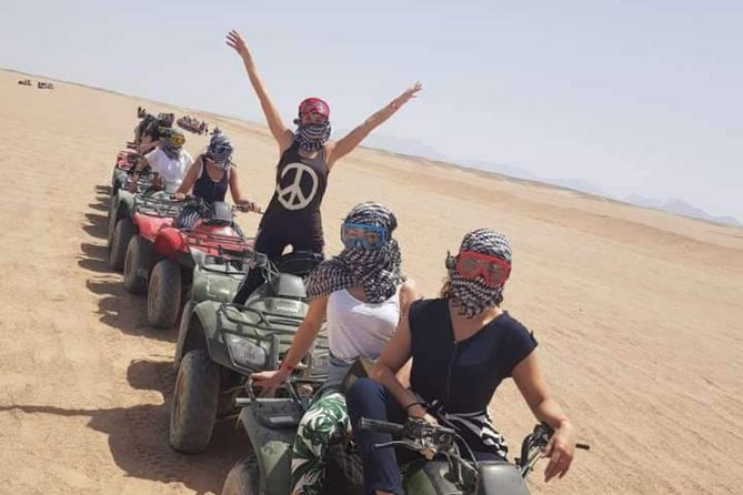 Quad bike in dahab 2 hour's to panorama dahab and twailat valley
