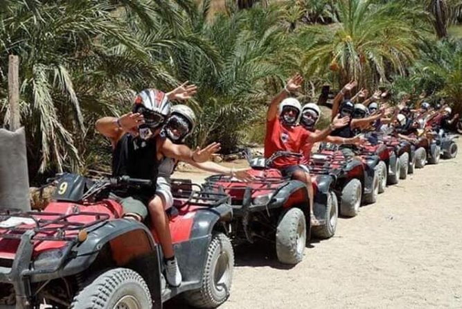 Quad bike in 3 pools and snorkeling in dahab