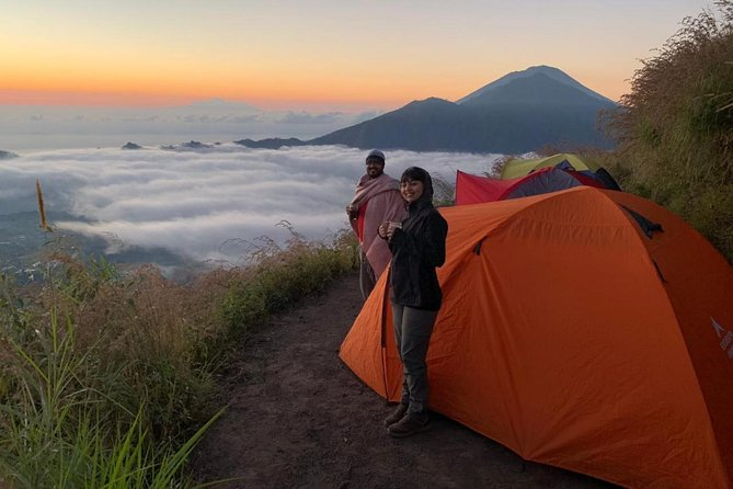 Mount Batur Camping Tour with Sunset and Sunrise Experience