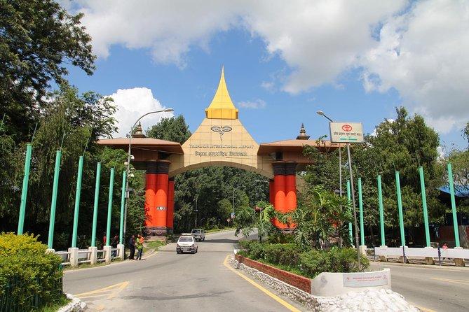 Private Transfer: Kathmandu Hotels to Kathmandu Domestic Airport with Guide