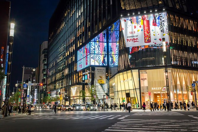Tokyo Night Luxury Tour with dinner and private guide