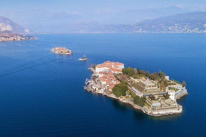 Tour of the Bella island, in Stresa, in the Borromeo Gulf