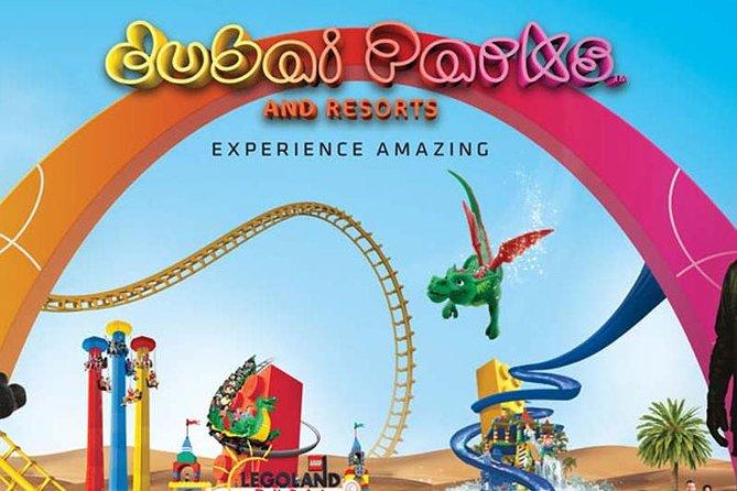 1 Night Stay in Lapita Hotel, Breakfast & Tickets to Dubai Parks & Resorts 2+2