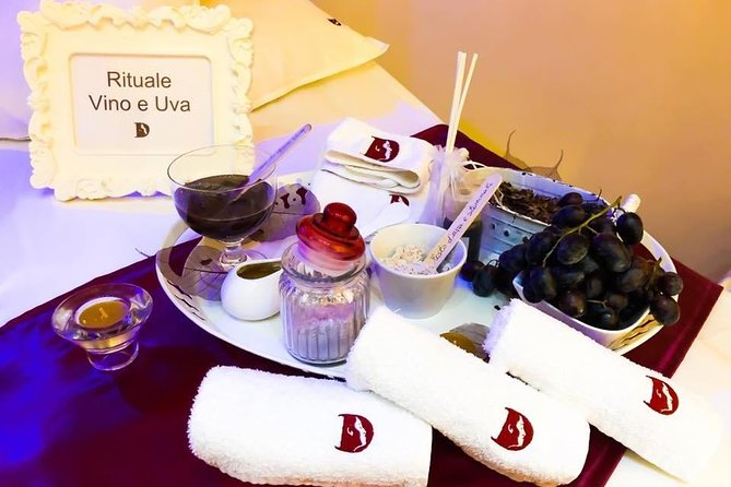 Wellness Ritual Wine And Grapes