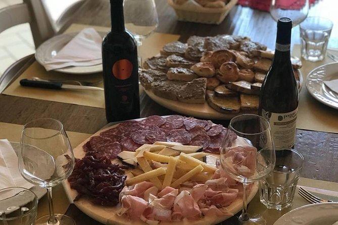 tasting Umbrian quality wines