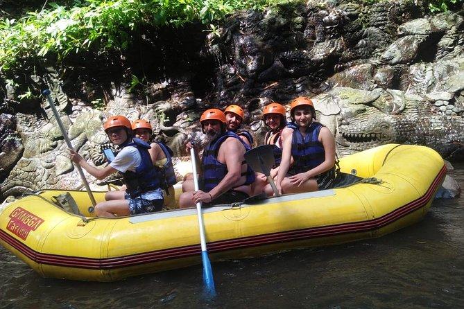 Adventure atv and rafting tour