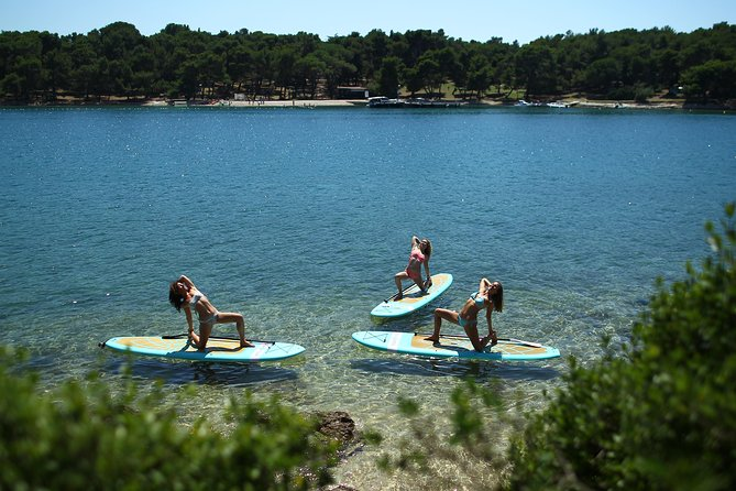 SUP Yoga at Morning & Sunset in Pula