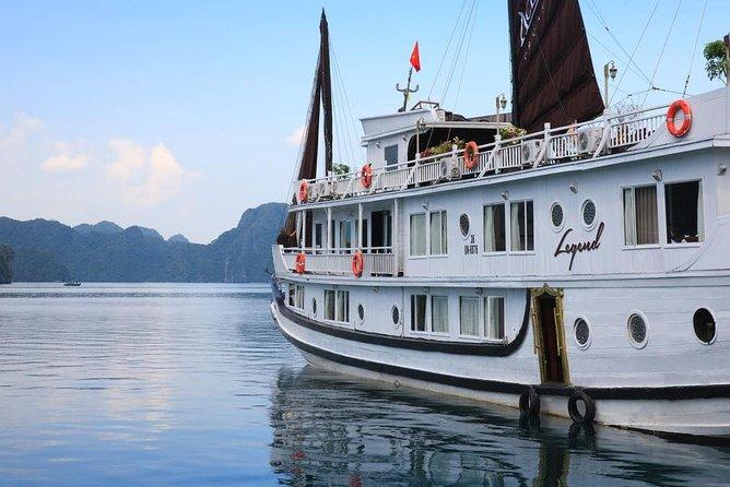 BOUTIQUE CRUISES Halong Bay 2 Days,1 Night Tour: Swimming, Caving, and Kayaking