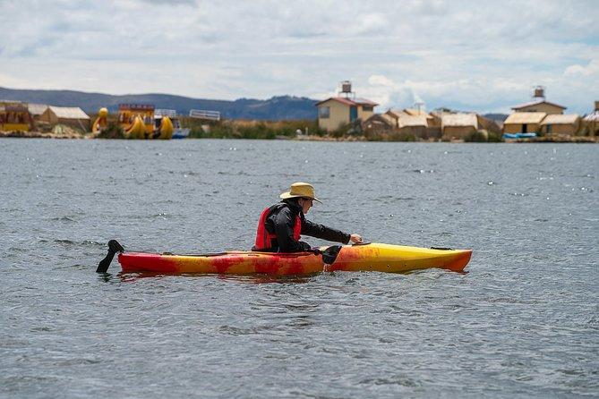 Kayaking Lake Titicaca