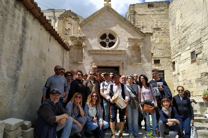Guided Tour of Matera Sassi