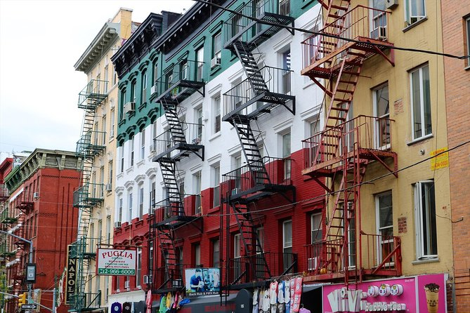 Little Italy, China Town & Wall Street 3 uur wandeltour. Kinderen gratis