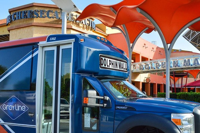 Shuttle to Dolphin Mall with South Beach & Downtown Loop
