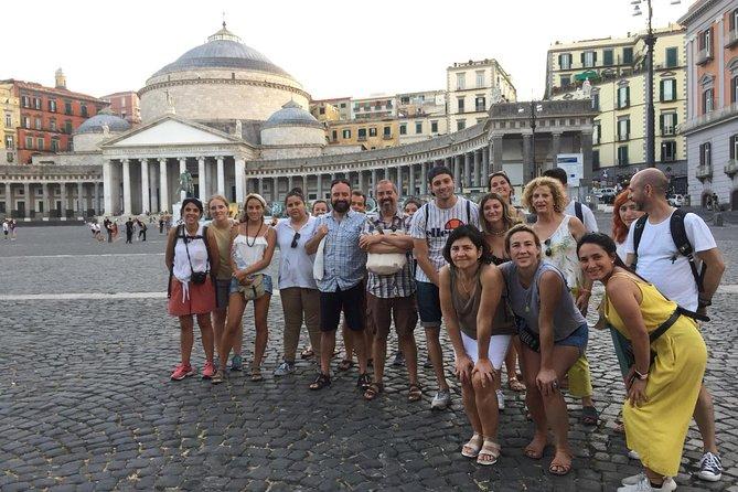 Ruta a pie Nápoles, Italia