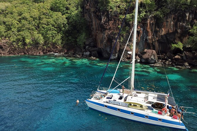 Diving and / or snorkeling day from a catamaran