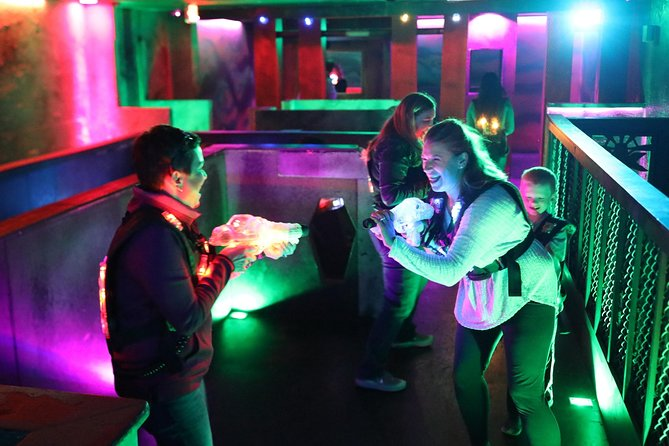 Up to 3 Hours of Unlimited Laser Tag