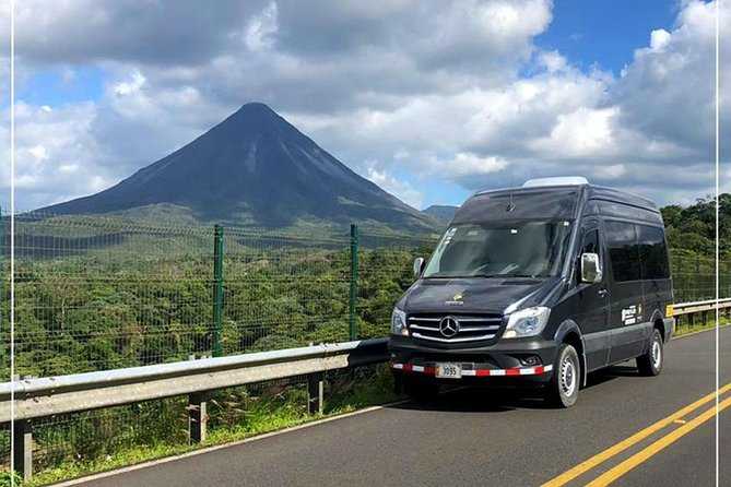 Private Transport from La Fortuna de Arenal to Tamarindo