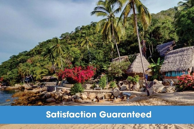 Up to 7 People Private Boat Tour to Yelapa with snorkel at Los Arcos | 5 hours