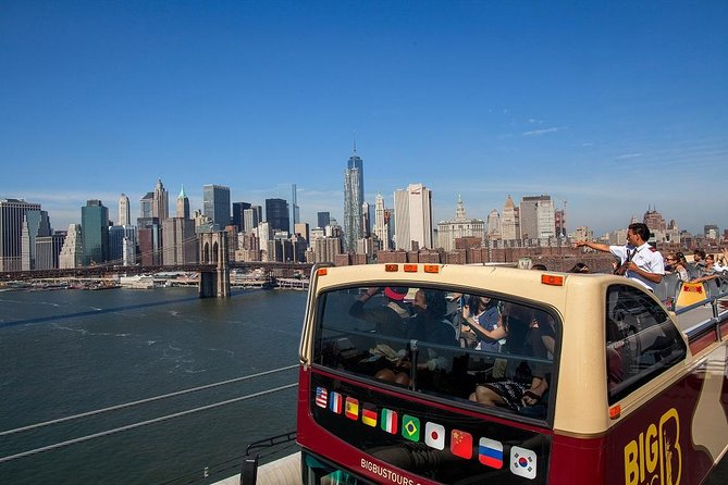 New York City 1-Day Hop-on Hop-off with Empire State and Statue of Liberty
