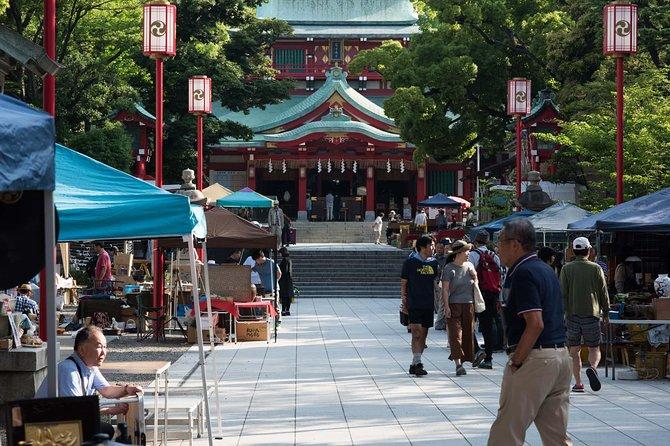 Traditional Antiques Market Tour Tokyo
